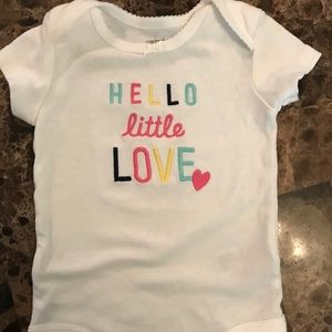 Carter's Short Sleeved Bodysuit for Baby